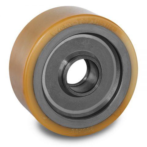 Utovarni točak za električni paletar 230X98mm od poliuretan za
