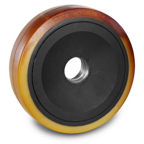 Utovarni točak za električni paletar 350X100mm od poliuretan za