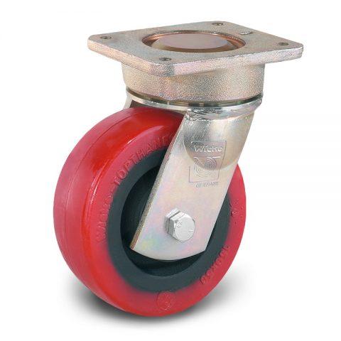 Točak stabilizacije električnih paletnih viljuškara  150X50mm od poliuretan sa dupli kuglični ležajevi  za  mašina