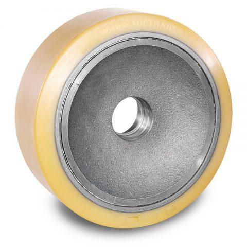Utovarni točak za električni paletar 350X127mm od poliuretan za