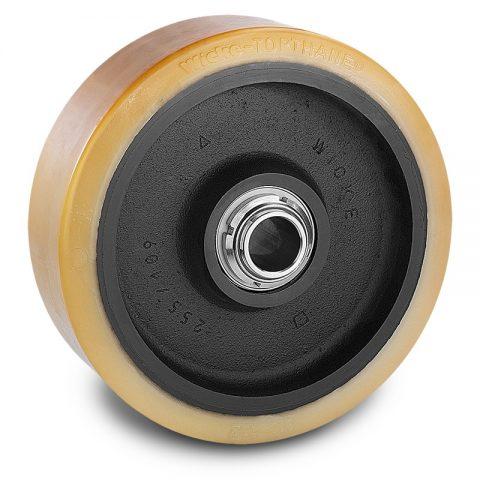 Utovarni točak za električni paletar 300X100mm od poliuretan za