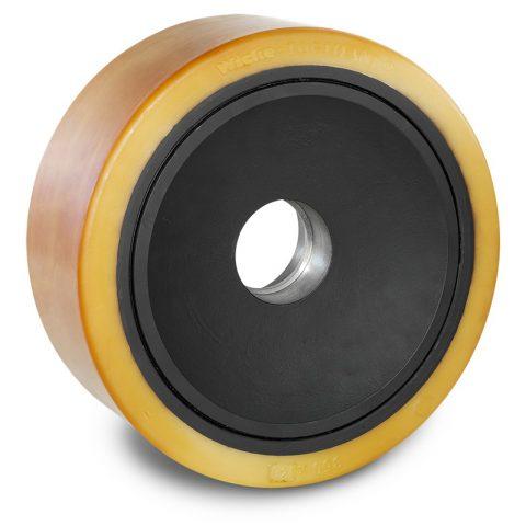 Utovarni točak za električni paletar 350X140mm od poliuretan za