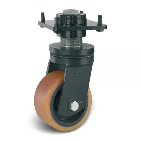 Točak stabilizacije električnih paletnih viljuškara  150X60mm od poliuretan sa dupli kuglični ležajevi  za  mašina