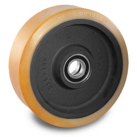 Utovarni točak za električni paletar 310X102mm od poliuretan za