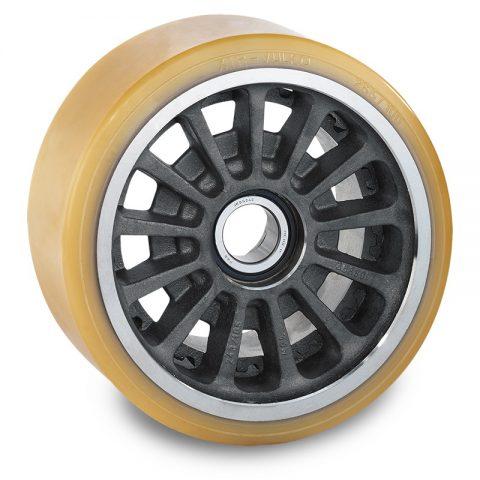 Utovarni točak za električni paletar 285X100mm od poliuretan za