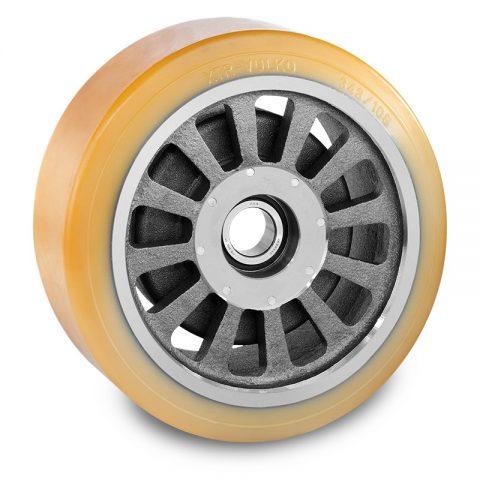 Utovarni točak za električni paletar 343X108mm od poliuretan za