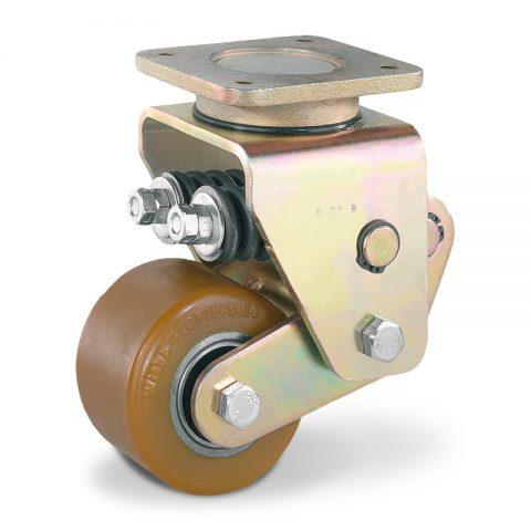 Točak stabilizacije električnih paletnih viljuškara  100X63mm od poliuretan sa dupli kuglični ležajevi  za  mašina
