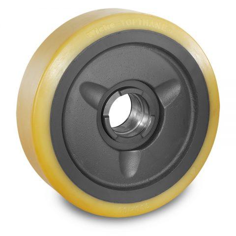 Utovarni točak za električni paletar 330X100mm od poliuretan za