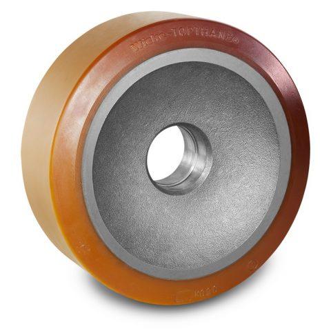 Utovarni točak za električni paletar 350X125mm od poliuretan za