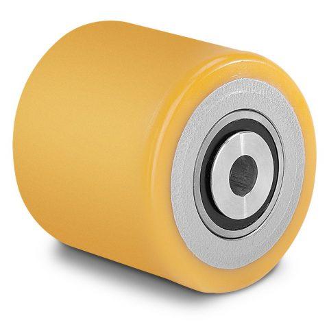Utovarni točak za električni paletar 150X130mm od poliuretan za