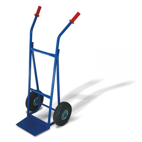 Transportna kolica sa dva pneumatska točka od 260mm i sa pločom 210x330mm