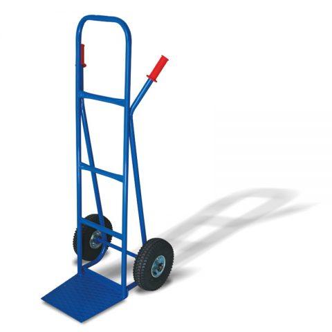 Transportna kolica sa dva pneumatska točka od 260mm i sa pločom 290x330mm