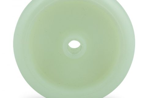 Točak 75mm za lagana kolica, sa točkom od poliamid tip 6 osovina kliznog ležaja