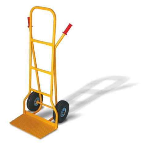 Transportna kolica sa dva pneumatska točka od 260mm i sa pločom 290x500mm