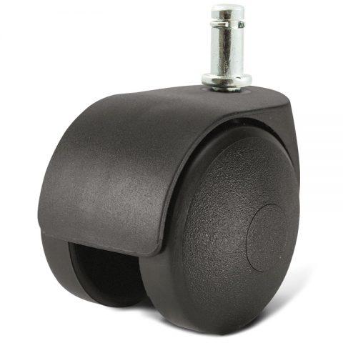 Točak za kancelarijsku stolicu i za nameštaj 40mm sa šipka 11X22mm