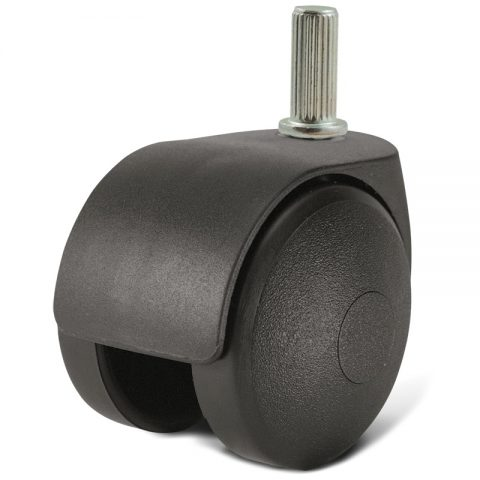 Točak za kancelarijsku stolicu i za nameštaj 40mm sa šipka 8,2X20mm