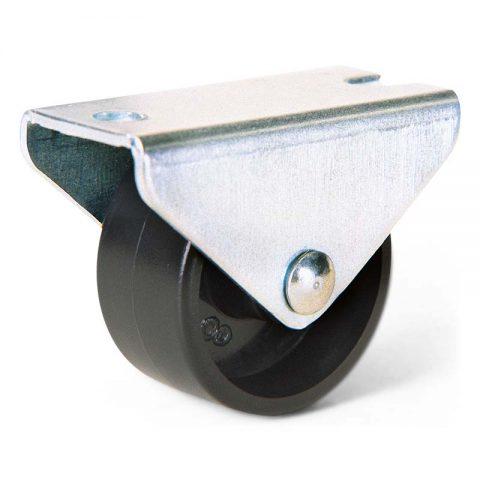Točkic fiksni za nameštaj 30mmsa gornja ploča 45x20mm