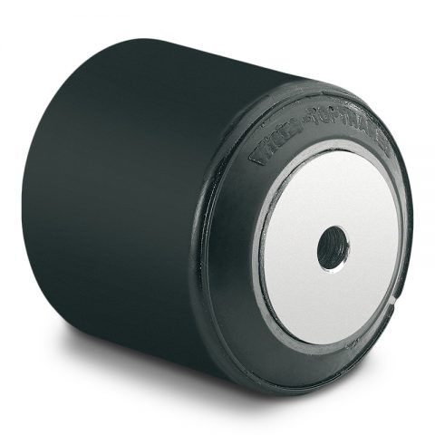 Utovarni točak za električni paletar 90X88mm od poliuretan sa dupli kuglični ležajevi  i osovina