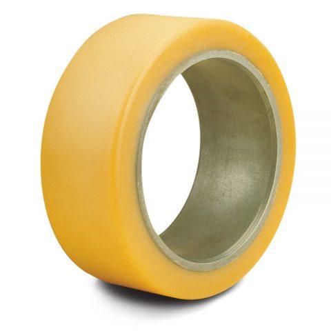 Montažni prsten za električni paletni viljuškar 250X60mm od poliuretan