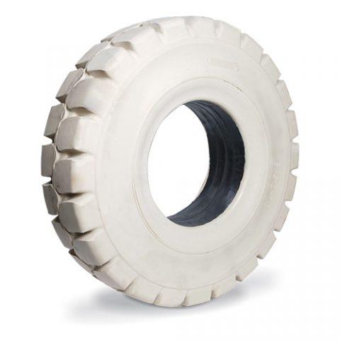 Puna guma viljuškara dimenzije 250-15 širina felne 7.00 za čiste podove